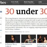 米フォーブス誌が選ぶ30歳以下の世界トップ30の社会起業家に選出頂きました!